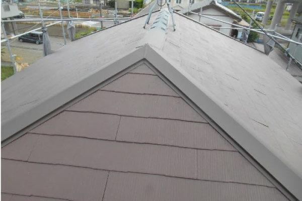 屋根塗装・外壁塗装・棟鈑金交換 千葉県袖ケ浦市