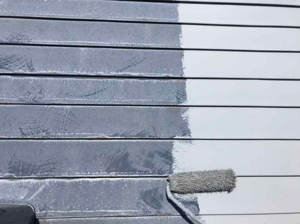 屋根と塗装