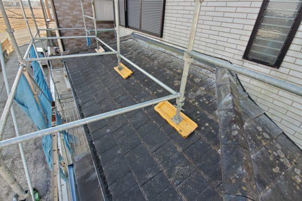 千葉県袖ケ浦市 屋根葺き替え工事 台風 雨漏り修理 瓦屋根から金属屋根へ