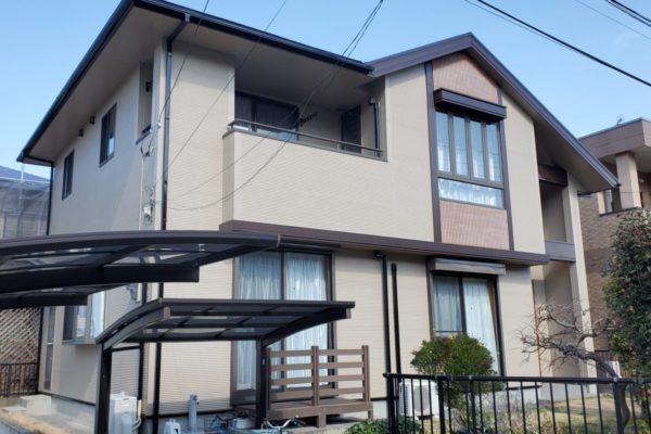 千葉県袖ケ浦市 外壁塗装 屋根塗装 オートンイクシード プレミアムシリコン