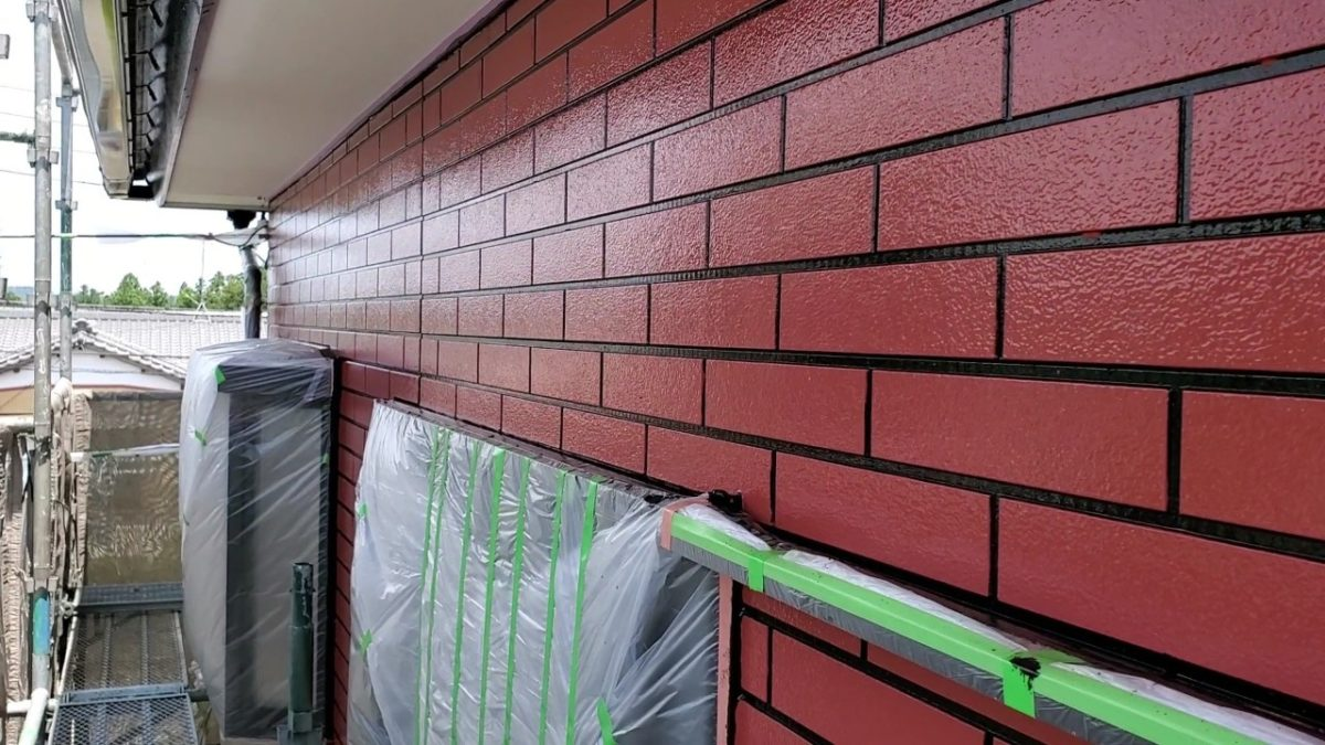 千葉県袖ケ浦市 外壁塗装 上塗り 2色 無料見積もり