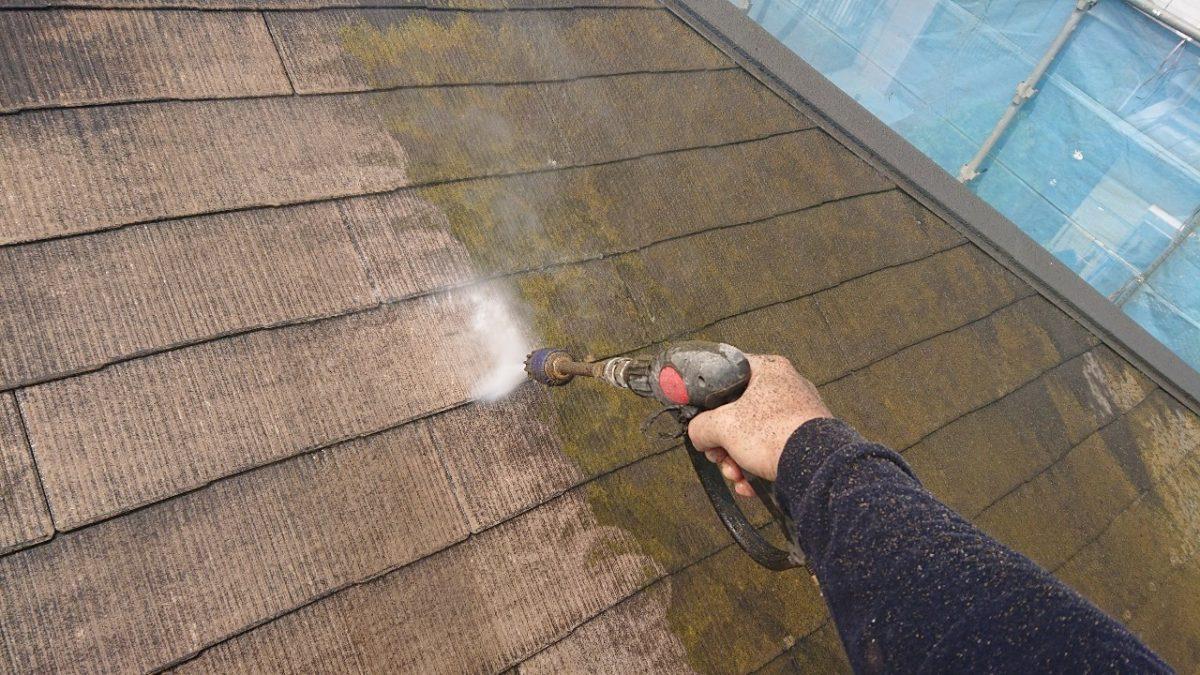 千葉県市原市 屋根塗装 高圧洗浄工事 無料見積もり