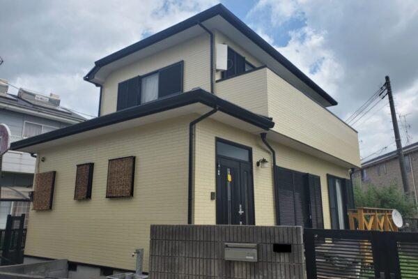 外壁塗装・屋根塗装・雨樋交換工事 千葉県市原市