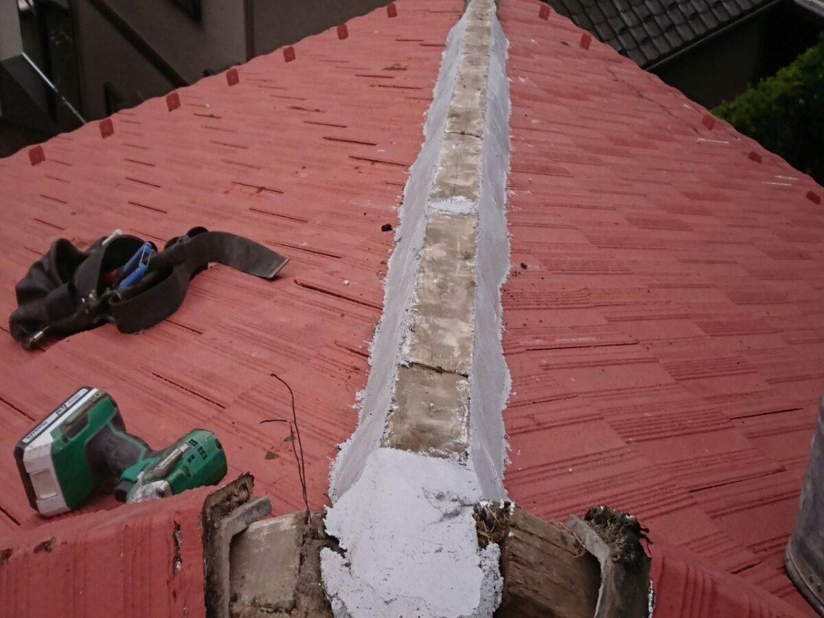 千葉県袖ケ浦市 屋根塗装 漆喰工事 無料見積もり