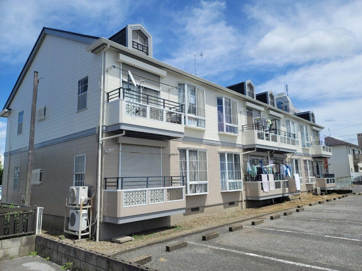 千葉県袖ケ浦市 外壁塗装 屋根塗装 アパート 無料見積もり