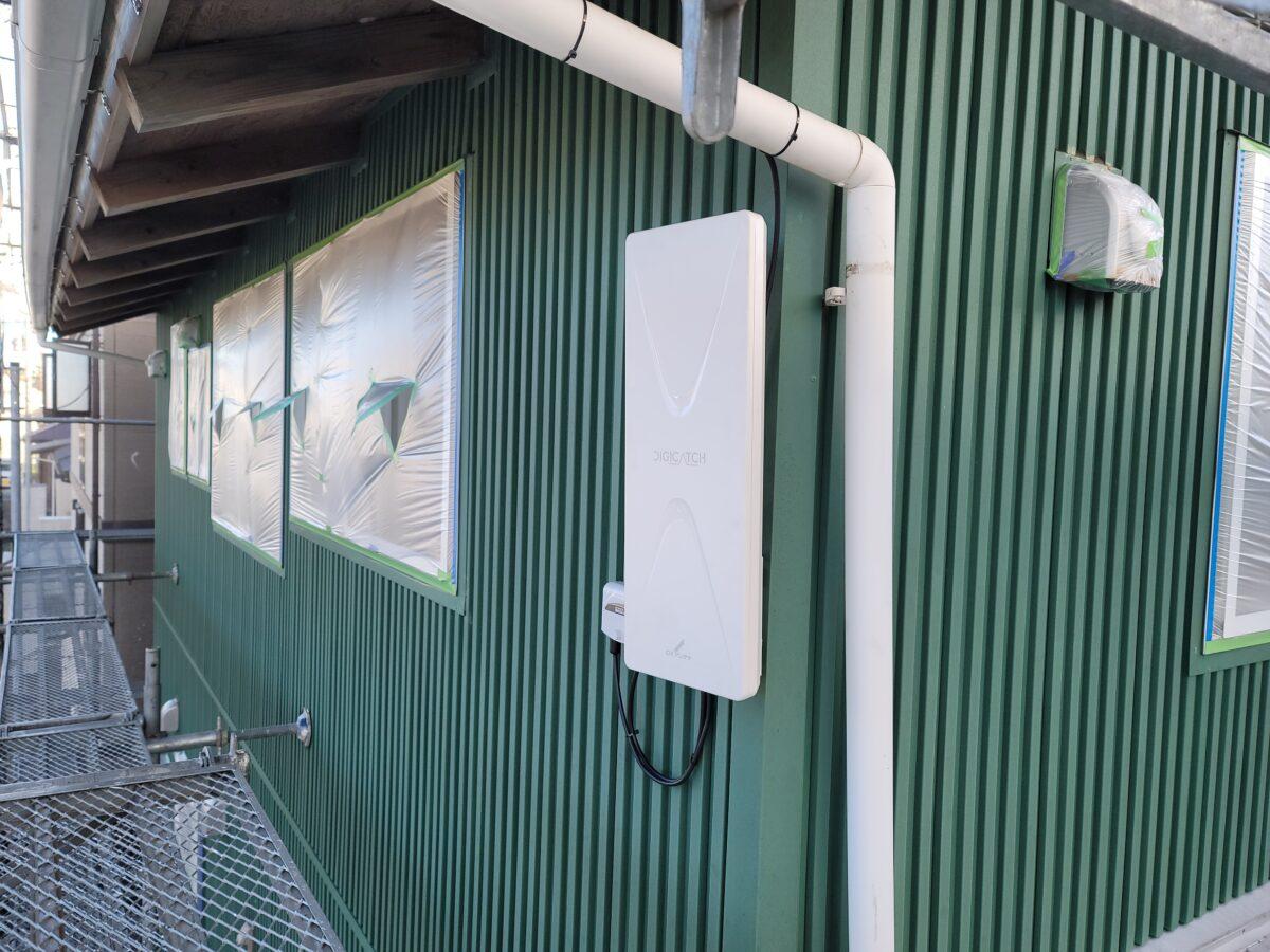 千葉県袖ケ浦市 外壁塗装 アンテナ交換工事 玄関ドア塗装 無料見積もり